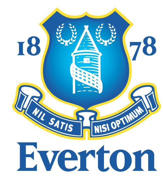 Full name Everton Football Club. Nick name The Toffees, The Blues,